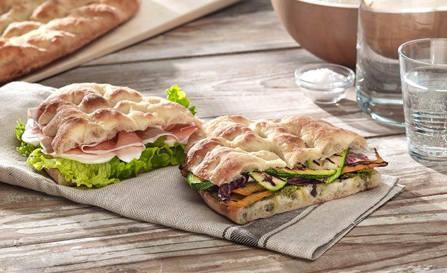 Pane Pizza Prodotti Forno Surgelati Guida Scongelamento Cottura